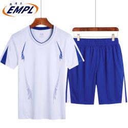 Kostuum van de Sporten van de Zomer van de Manier van de Borrels van de Zomer van de T-shirt van mensen het kort-Sleeved Lopende los Toevallige