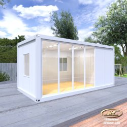 Flachgehäuse-lebender Speicher plant expandierbarer Preis-Sommer-bewegliches Stahl-vor tolles kleines bewegliches luxuriöses bewegliches modulares vorfabriziertes kleines Fertigbehälter-Haus