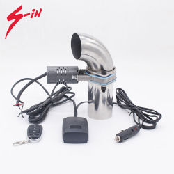 Autopartes Universal Variable de la válvula de corte eléctrico de escape para el coche deportivo