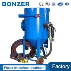 La presión de la fábrica Dustless Portable Manual seco Sand Blaster Ametralladora para eliminar el óxido de acero
