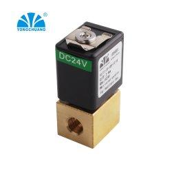 Médico de latón Control proporcional en miniatura Electroválvula de Aire 12V para el uso del ventilador de flujo alto