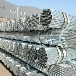 Tubo d'acciaio Hot-Galvanized vuoto saldato rotondo del ferro a basso tenore di carbonio