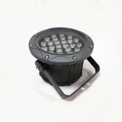 إضاءة LED بواجهة شاشة المبنى الخارجي AC85-265V بقوة 22 واط مقاومة للماء IP66 2000K-6000K مصابيح الغمر LED الأحمر والأخضر والأزرق (RGB)