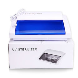 Barber Shop temperatura eléctrico desinfección seco armario esterilizador Lámpara UV de verificación