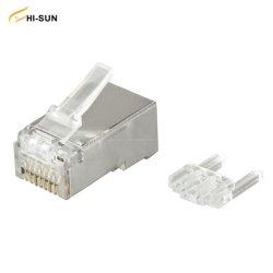 STP 플러그 8p8c 커넥터 사면 카탈로그 5e/CAT6/Cat. 6a 모듈식 플러그