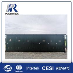 Sottostazione dell'apparecchiatura elettrica di comando di potere del compatto del trasformatore del chiosco del contenitore