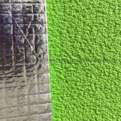 A temperatura elevada de folha de alumínio XPE de espuma em relevo Pet metalizado revestido a espuma de isolamento