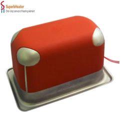 Aquecedor de Silicone Eléctrico personalizados flexíveis e resistentes a rasgões