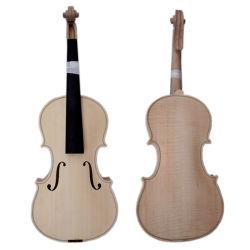 Hoher Grad-unfertige Violine mit Flamme