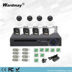 WDM CCTV 8CH Home Security telecamere IP a colori risoluzione 5.0MP Kit PoE NVR sistemi di allarme