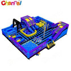 European Hot Sale Terrain de jeux intérieur gonflable l'équipement d'amusement Fun City Chob1244