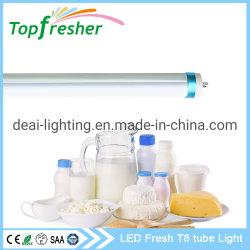 مصباح LED للسوبر ماركت CRI90 T8 0.6م مصابيح LED للأنبوب
