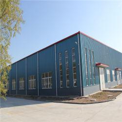 Prefabricados moderna estructura de bastidor de acero de construcción de la luz de Almacén de Material de construcción