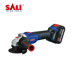 Sali 8110/8115 20V 100/115mm Angle sans fil de haute qualité d'une meuleuse (brushless) avec batterie Li-ion