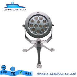 lampada del punto subacqueo di 12With36W LED con Brackt ed il treppiedi registrabile