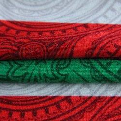Customized Clarear Imprimir 82%18 de Nylon%Spandex Planície Ripstop urdidura do tecido tricô para piscina/desgaste de ioga/Vestuário