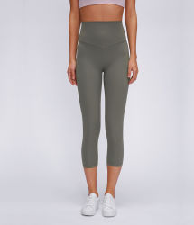 Gym-kleding voor dames Wholesale Running Tights Capri Broeken