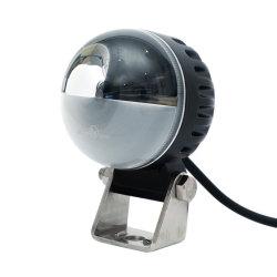 10-110 فولت تيار مستمر 3 بوصات مصباح LED ذو عارضة دائرية أمان رافعة شوكية مصابيح التحذير