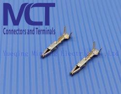 Póngase en contacto con Terminal de cable de 1,6 AMP 962876-1 Automotive Micro terminales del conector eléctrico temporizador
