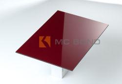 Antistatisch samengesteld paneel van aluminium, materiaal voor wandbekleding