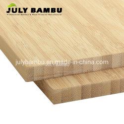 Compensato di bambù della scheda del solido di 100% per la cucina del controsoffitto del blocchetto di macellaio, strati di bambù