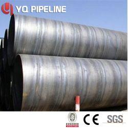 Mucchi saldati a spirale dell'acciaio del tubo d'acciaio di api 5L X60 X70 SSAW ASTM A252