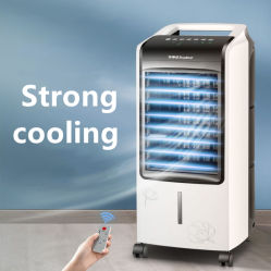 Accueil permanent de l'eau en plastique prix d'usine Evoparative refroidisseur à air conditioner refroidisseurs d'air Portable ventilateur avec Pack de glace