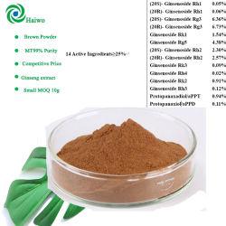 水Panaxの朝鮮人参のエキスまたはまれなGinsenoside Rh2/Rg3の高品質の朝鮮人参の粉100%のSoluble