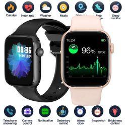Full Touch Sport Fitness Waterproof Bloeddruk Smart Clock Smartwatch