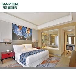 Meubles modernes adaptés aux besoins du client de chambre à coucher d'hôtel de 5 étoiles pour l'ensemble de meubles d'hôtel
