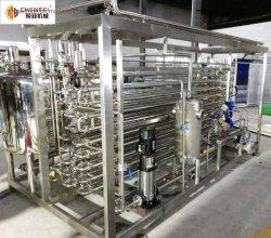 De Buis van de Machine van de Sterilisator van UHT van de Verwerking van de ananas/van de Appel/van de Sinaasappel/van de Tomaat in de Sterilisator van de Buis