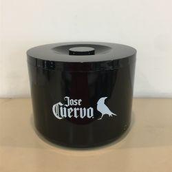 10L grand rond en plastique acrylique Custom-Made PS seau à glace de haute qualité pour le club de nuit