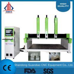Legno del router di CNC Router/CNC di legno per legno solido/gomma piuma/metallo solido Gd1325