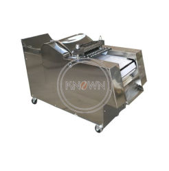 Nervature di porco elettriche di carne e di ossa dell'anatra del pollo della tagliatrice dell'affettatrice della carne 300-500kg/H