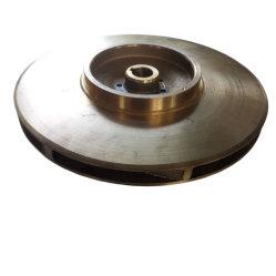カスタマイズされた遠心鋳鉄の水ポンプの部品(真鍮のインペラー)