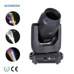 Professional Audio Video DJ lavar danceteria 380W Sharpy deslocamento do feixe luminoso Iluminação de cabeça