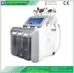 ハイドロ皮の皮の若返りのハイドロDermabrasionの水の皮処置のMicrodermabrasion 1台のHydrafacialのスキンケアの表面洗剤の機械に付き6台