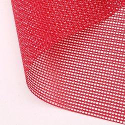 폴리에스테 PVC 입히는 메시 직물 색깔 메시 직물
