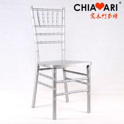 مطعم حديث، كرسي قاعة المناسبات Chavari، وليمة مميزة باللون الفضي والخشب الصلب