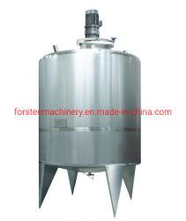 Vloeistofverwerkingslijn inclusief mengsysteem voor opslagtanks voor chemicaliën/farmaceutica/dranken/dagelijks Vaatwassen
