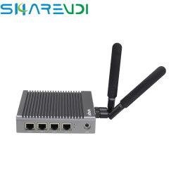 A Intel J1900 Onboard 2G/4G/8G de memória DDR3l 4 computador da LAN para segurança de rede