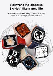2021 nueva llegada de protección IP68 Resistente al agua la presión arterial Smartwatch Monitor de Ritmo Cardíaco llamada Bluetooth de música de los teléfonos móviles Bluetooth Pulsera Reloj inteligente