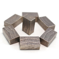 화강석을 위한 다이아몬드 코어 커터 세그먼트 공구