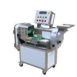 고급 잎이 무성한 야채 양파 감자 칩 커터 커팅 머신 상업용 과일 다지기 슬라이서(TS-Q118A)
