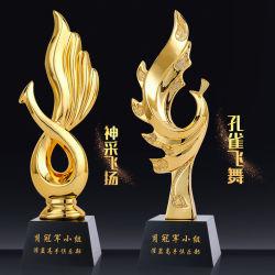 Cristal de acrílico BSCI personalizada de fábrica profissional do Prêmio de metal de alta qualidade Personalizada Desporto Troféu Troféu Prêmio de plexiglas