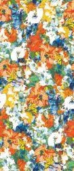 O último projeto impresso Floral Sarong Chiffon de seda natural