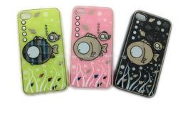 Étui en silicone pour iPhone-Fish