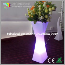 O LED acende o LED do potenciômetro de Flores vaso de flores