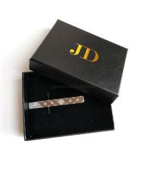 Traje de gama alta de la caja gemelos Clip insignia de la caja de verificación, mayorista de Venta Directa de Fábrica Personalizada