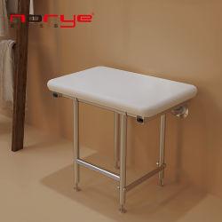 Монтироваться на стену из нержавеющей стали подушки подушки сиденья душ Складной стул